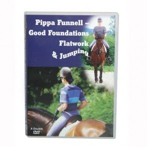 DVD 'Pippa Funnell - Good Foundations Flatwork & Jumping