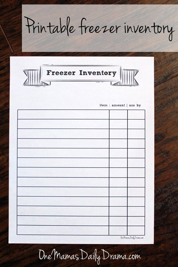 how to keep track of inventory and sales