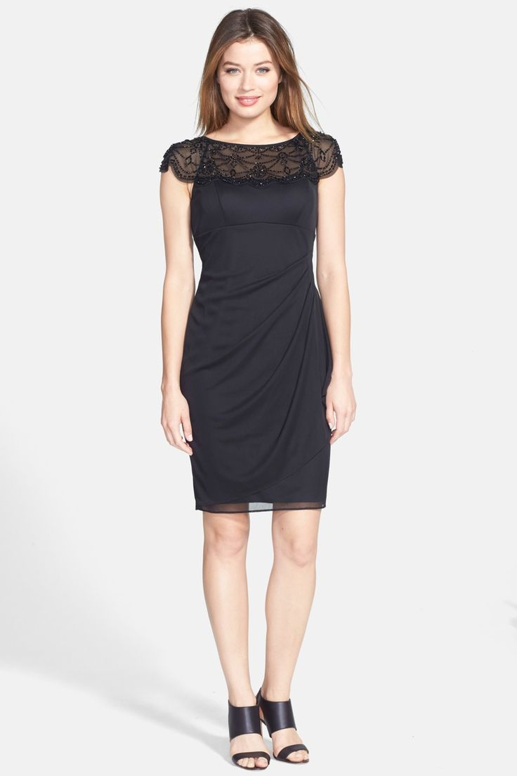 Black dress nordstrom discount