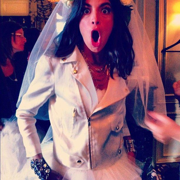 Manrepeller wedding dress