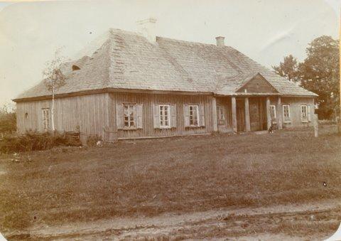 Pałace, dwory, dworki - Dajnowo/Żośli -Dworek - wilenszczyzna, ok,1940