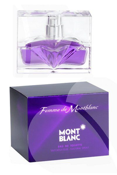 Mont Blanc Femme de Mont Blanc Eau de Toilette is a modern and oriental fragrance for refined women. Classed as a fresh, cool, passionate and deliciously sweet scent. £10.00
