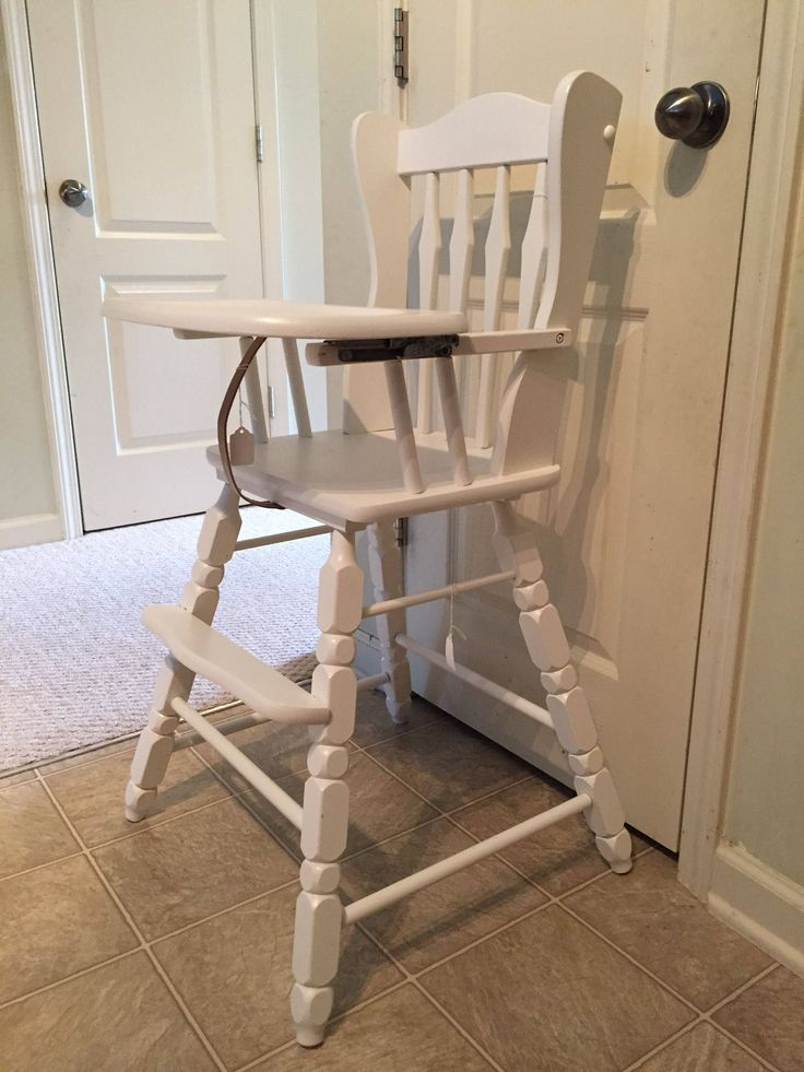 Excited to share the latest addition to my #etsy shop: Vintage Wooden High Chair, Jenny Lind, Antique High Chair, Vintage High Chair, Custom Painted High Chair, Wood Highchair, Wooden Highchair http://etsy.me/2mLPfpw #children #furniture #birthday #jennylindhighchair