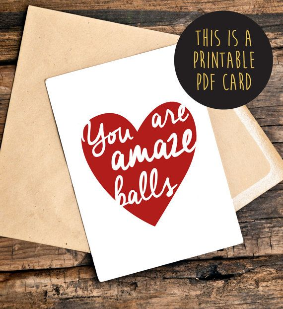 Love Cards for Her Funny Anniversary Cards by TheLittlePiper Top - printable anniversary cards for him