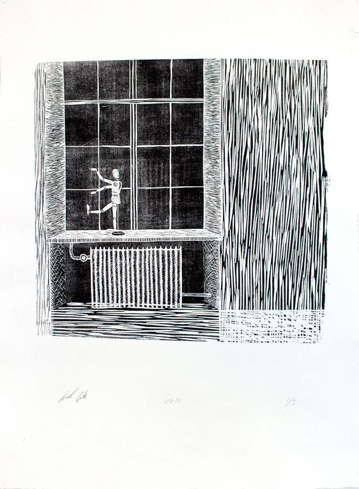 Drawing Doll by Laurits Gulløv #art #artist #painting #drawing - Beauton Art Gallery - http://beautonart.com   http://beautonart.dk