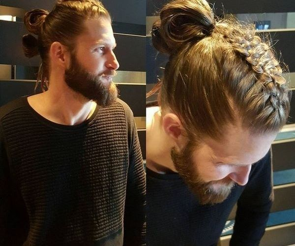 Viking Style Braids For Men Viking Hair Hair Styles Mens Braids Hairstyles
