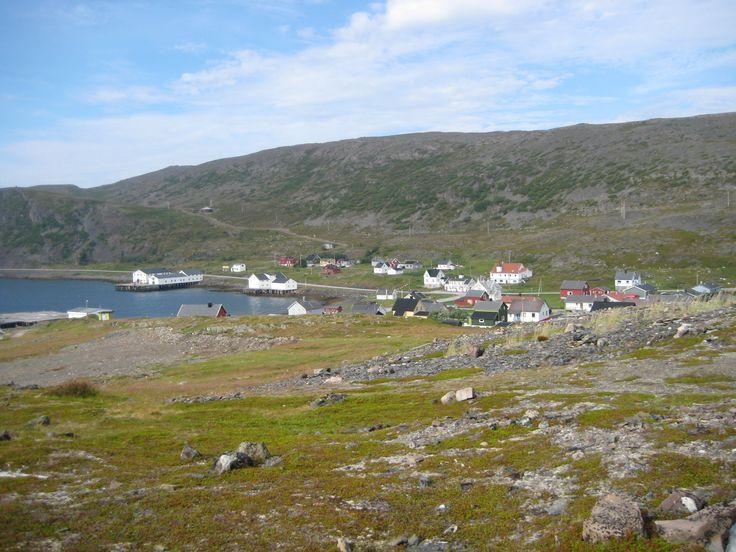 Kongsfjord village.