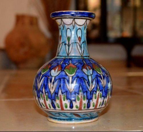 Antique Vintage Palestine Pre Israel Iznik Armenian