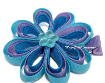 Minnie Mouse Ribbon Sculpture Hair Clip in Pink or by Magnificence