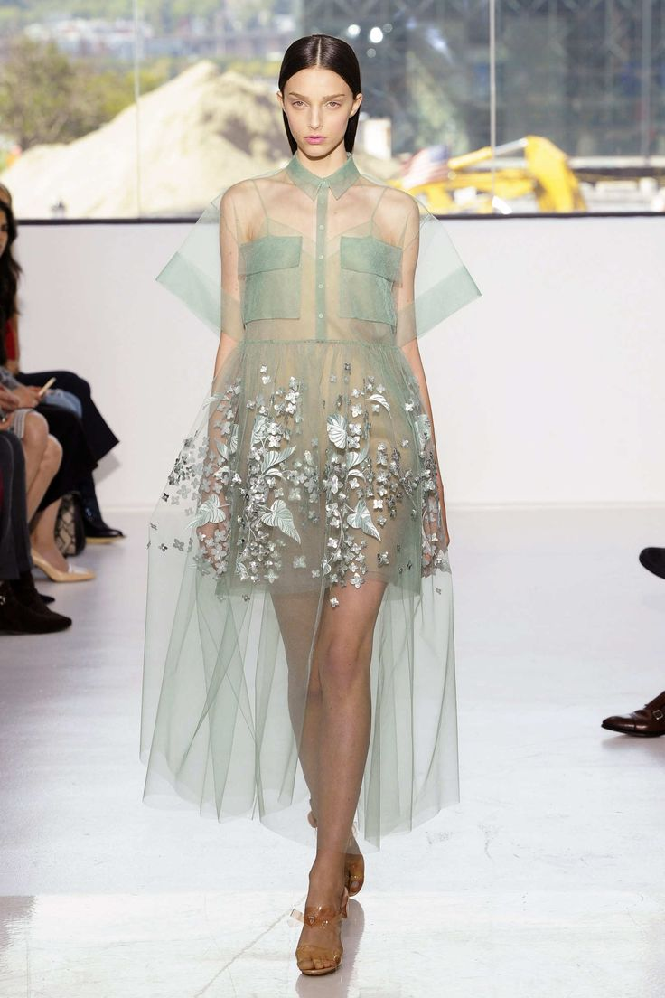 Is it just me or is, Delpozo, channeling their inner FROZEN.... please let this go!