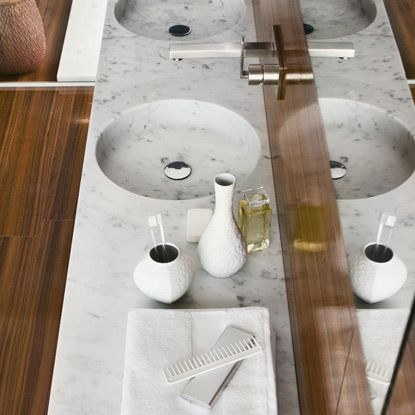 Washbasin Round Tailor: #bathroom, #washbasins, #stone, #design, #madeinitaly, #naturalstone, #interior, #architecturedesign, #interiordesign, #forniture,