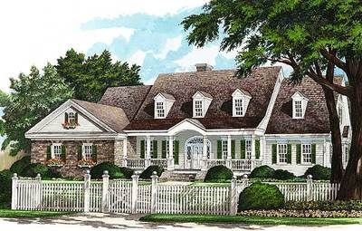 Plan 32492WP: Refined Southern Home Plan