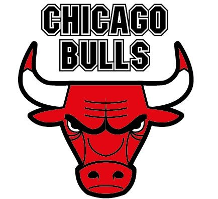 NBA chicago bulls logo eps
