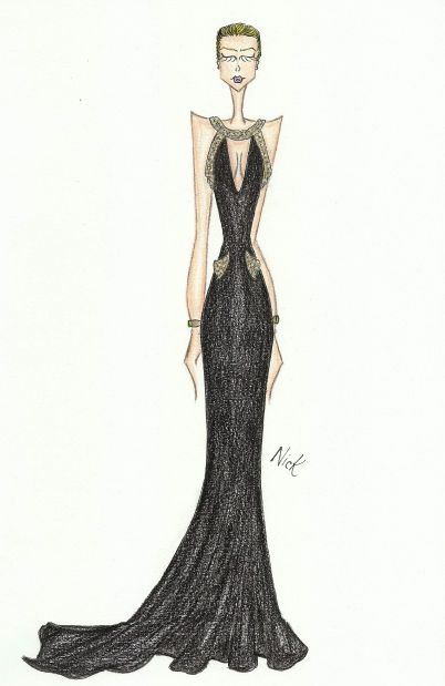 Blake Lively - Golden Globe Dress: Versace