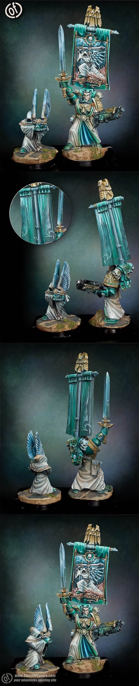 Azrael - grand master of Dark Angels Space Marines