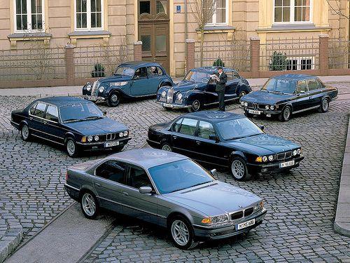 BMW 7-Series History