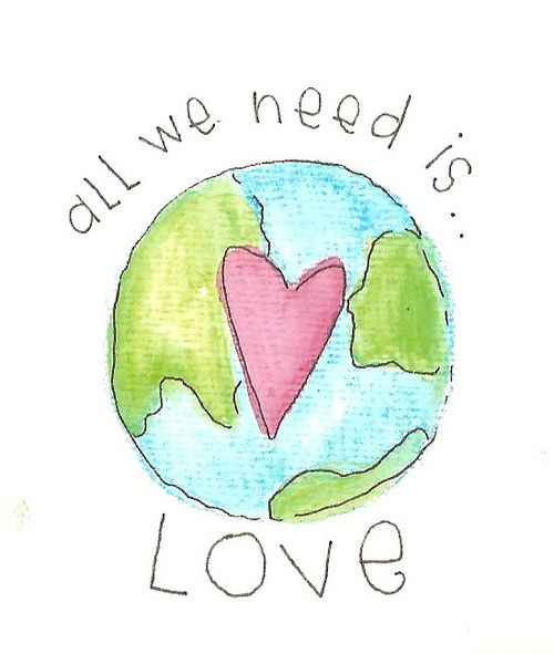 all we need is love and Jehovah is love 1 John 4:8 ^^