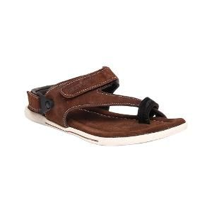 Step in with ultimate pick of this season when you adorn this pair of Bacca  Bucci Genuine Leather Brown Sandals