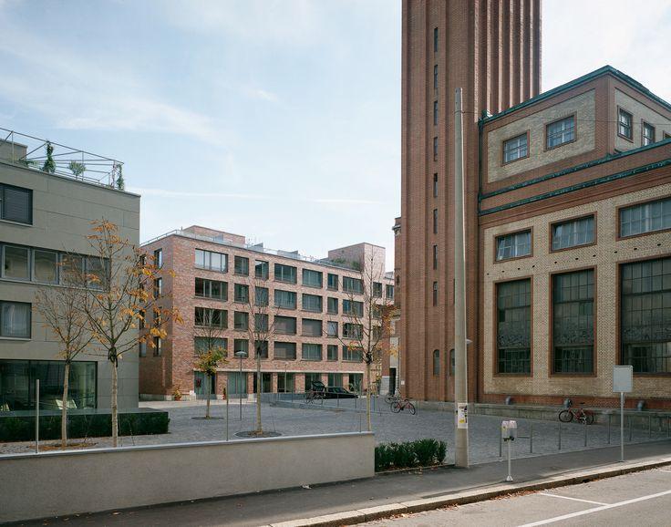 Diener 0665 war housing and office warteck brewery basel - Architektur basel ...