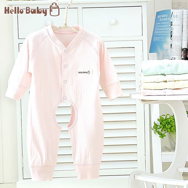 21.50$  Watch now - http://alisea.shopchina.info/1/go.php?t=32816588829 - Free Shipping HelloBaby boneless sewing baby newborn baby cotton romper baby's climbing clothes open-seat pant carters  #shopstyle