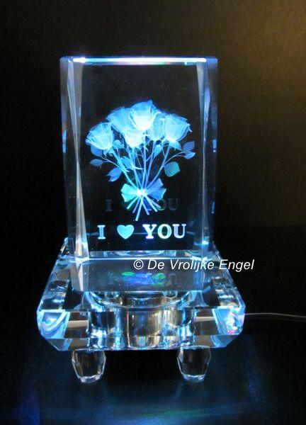 Laserblok I love You