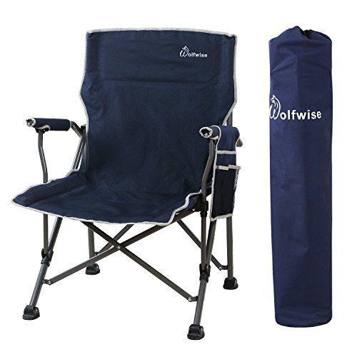 Wolfwise Chaise De Plage Pliante Assise Large Chaise De Camping Siege Randonnee Super Solide Noir Chaise De Plage Pliante Chaise De Plage Et Chaise