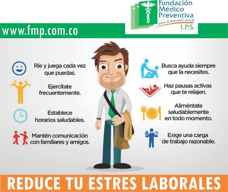 Reduce tu #Estres #Laboral