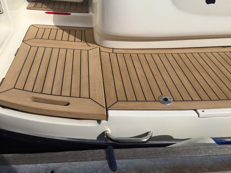 Boat Construction Materials : Best pvc synthetic teak soft boat yacht decking
