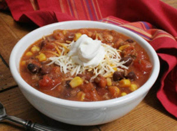 Slow Cooker Chicken Taco Soup Recipe | Just A Pinch Recipes