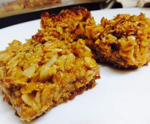 Recipe Anzac Caramel Slice by Aprilstar - Recipe of category Baking - sweet