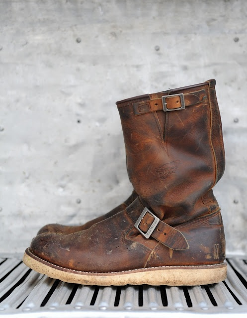 Red Wing Engineer Boot
