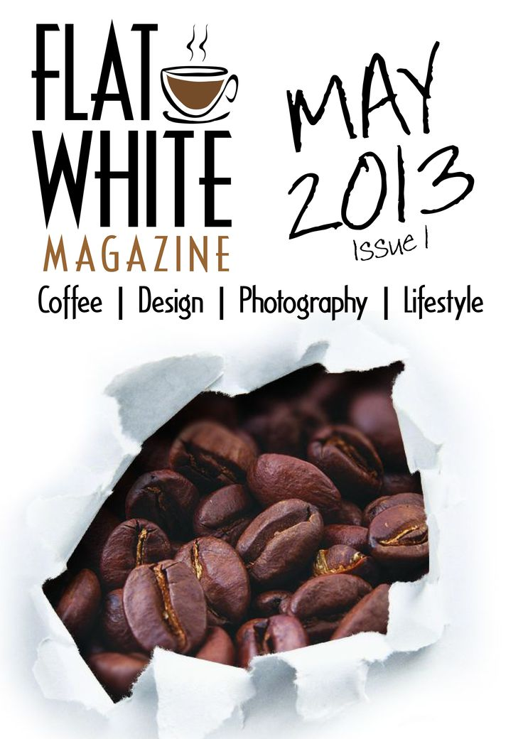 First issue of Flat White Magazine