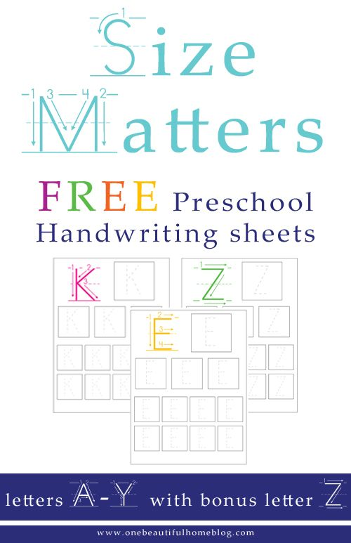 How to help your child with their handwriting