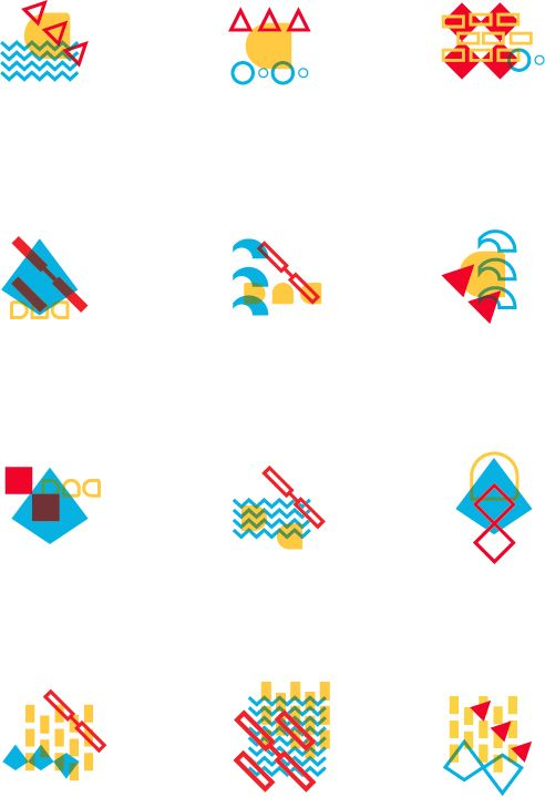 Flexible identity for the city of Nantes on Behance
