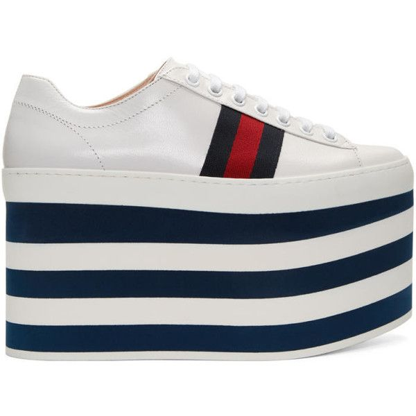25 best ideas about white platform sneakers on