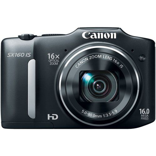 Where can I get Canon PowerShot SX160 IS 16.0 MP Digital Camera with 16x Wide-Angle Optical Image Stabilized Zoom with 3.0-Inch LCD (Black).