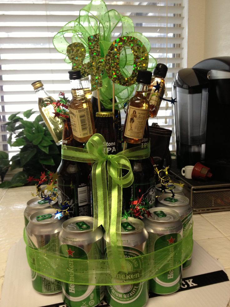 gift for a guy on his 40th birthday beer cake. Black Bedroom Furniture Sets. Home Design Ideas