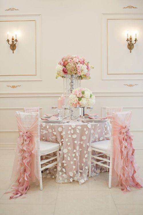 WEDDING ♥ Tablescape Ideas & Decorations