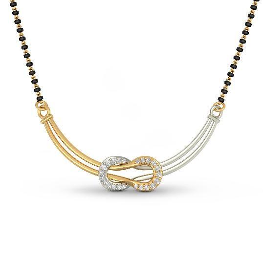 The Takshaka Tanmaniya | Diamond Tanmaniy In 18Kt Yellow Gold