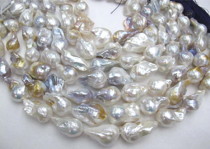 Natural Large Baroque Freshwater Pearls