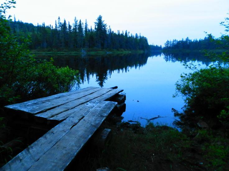 Algonquin Park Rain Lake Magic Hour - ExploreOntario.net