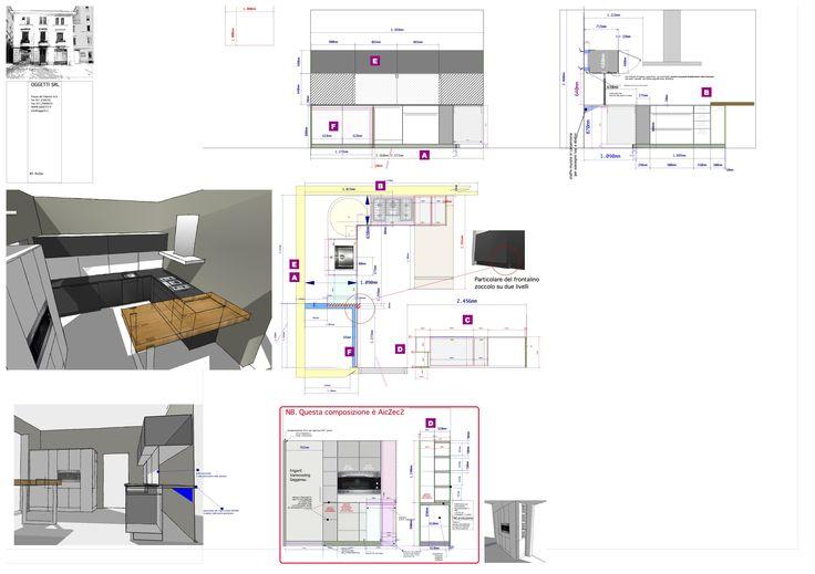 project of Kitchen B3 realized . design Lauro Ghedini