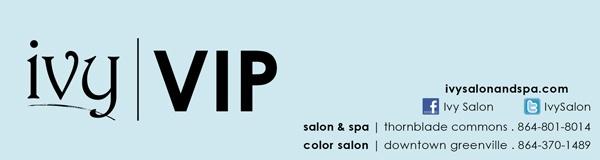 Ivy Salon - VIP loyalty program