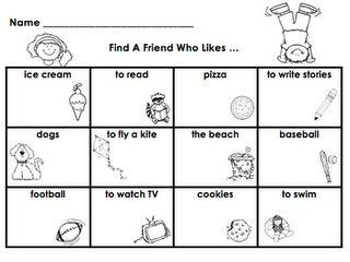 Find a Friend Activity download