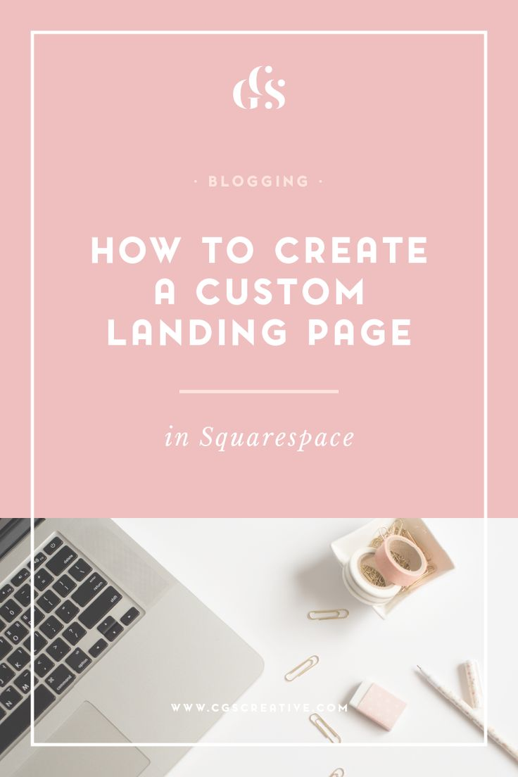 best ideas about cover pages page design web how to create a custom landing page in squarespace