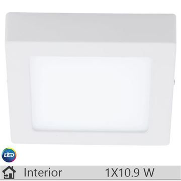 Plafoniera LED iluminat decorativ interior Eglo, gama Fueva, model 94073