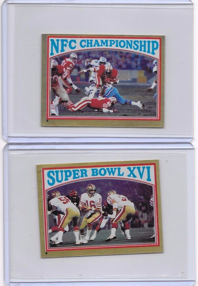 San Francisco 49ers Lot of 2 Topps Football Coming Soon NFL Stickers #6 and #9  #SanFrancisco49ers