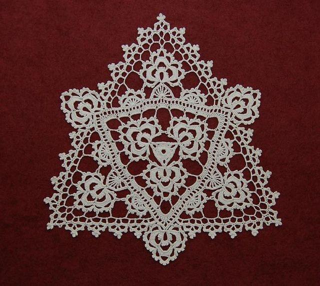294 besten Crochet Lace Doilies Bilder auf Pinterest | Häkeln ...