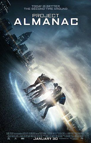 Project Almanac - another found footage movie ; i love time travel movies though