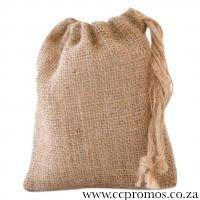 Eco Hessian Gift Bag - Small www.ccpromos.co.za
